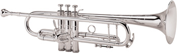 King 2055T Silver Flair Trumpets